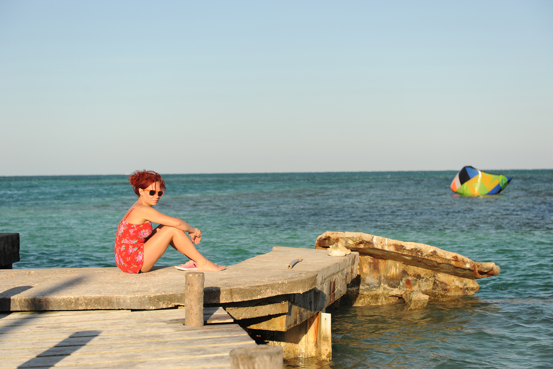4everLuv goes to the island of Caye Caulker, Belize