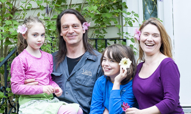 You need a fun family portrait!